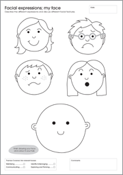 My First Activity Workbook - Facial Expressions
