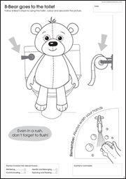 My Very First Activity Workbook - B-Bear Goes to the Toilet