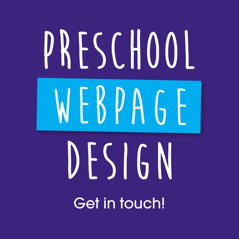 Kooley Design Preschool Webpage Design
